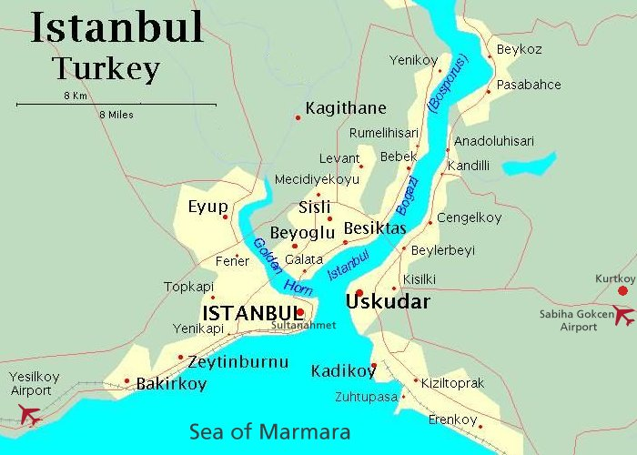 North Sea–Black Sea Cruise with Istanbul – Eastbound ...
